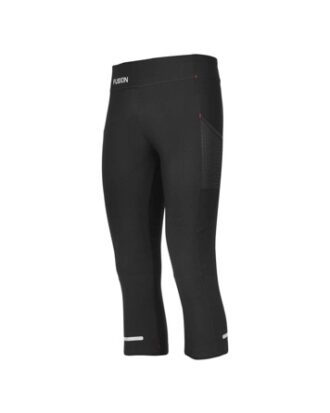 Fusion WMS C3 3/4 Training Tights Sort Dame