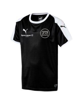 Puma Liga Sort junior Fodbold t-shirt SBK med Tryk