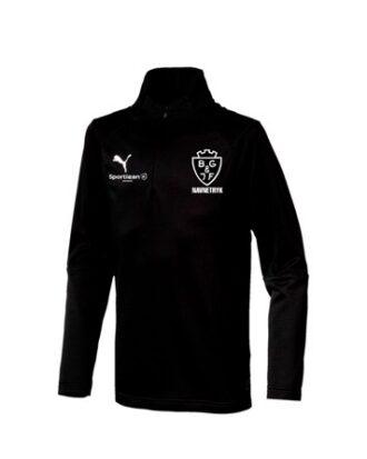 Puma Liga Trænings Trøje Sort BGIF med Tryk