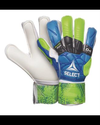 Select GK Gloves 04 Protection Målmandshandsker Blå-Grøn-Hvid Børn