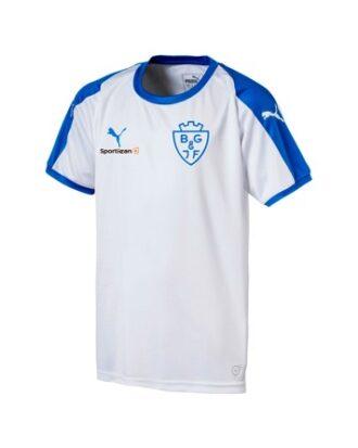 Puma Liga Core Hvid junior Fodbold T-shirt BGIF med Tryk