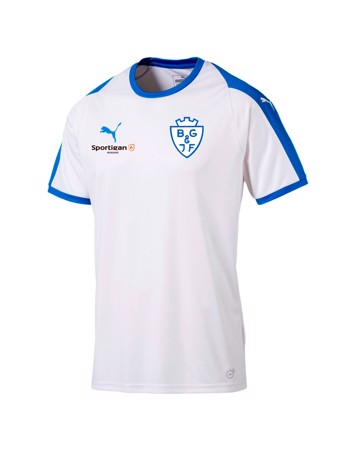 Puma Liga Core Hvid Fodbold T-shirt BGIF voksen