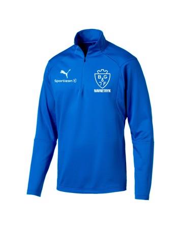 Puma Liga Blå senior Trænings Trøje BGIF med Tryk