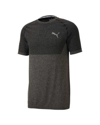 Puma Evoknit Basic T-shirts Sort-Grå Herre