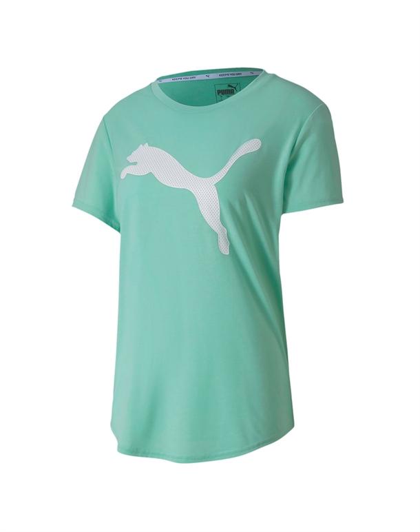 Puma Evostripe Tee T shirts Grøn Dame