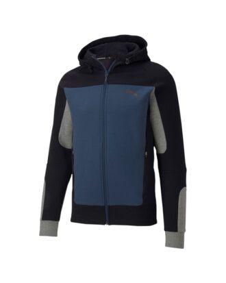Puma Evostripe Hooded Sweatshirt Sort M/Blå Herre