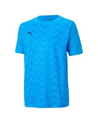 Puma FTBLNXT Graphic Shirt Core Trænings t-shirt Blå Børn