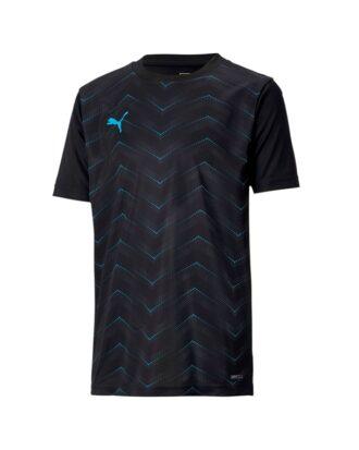 Puma FTBLNXT Graphic Shirt Core Træningstøj Sort Børn