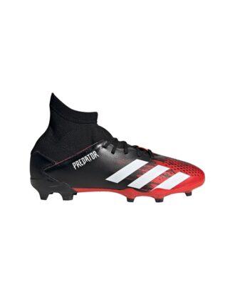 Adidas Predator 20.3 FG J Fodboldstøvler Sort-Rød Børn
