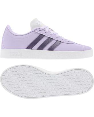 Adidas VL Court 2.0 K Sko Lilla Børn
