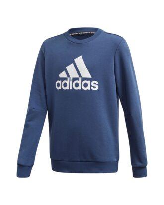 Adidas JB MH CREW Sweatshirt Blå-Hvid Børn