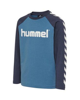 Hummel Boys T-shirt Blå Børn