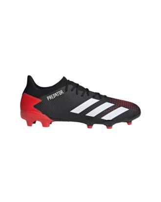 Adidas Predator 20.3 L FG  Fodboldstøvler Sort-Rød Unisex