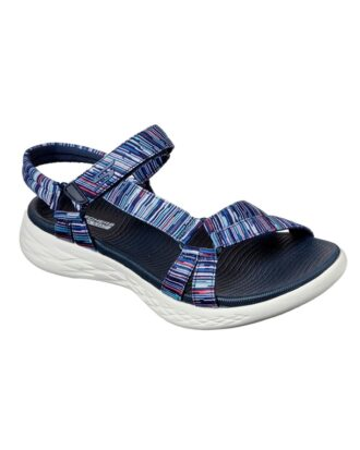 Skechers On the Go  Sandal Blå-Multi Dame