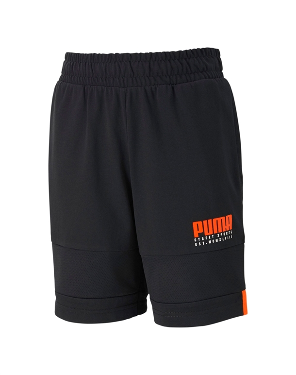 Puma Alpha Jersey Shorts Sort Børn