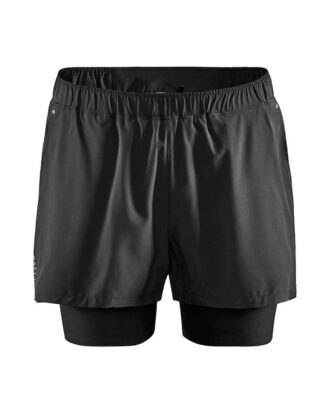 Craft ADV Essence 2-in-1 Stretch Shorts Sort Herre