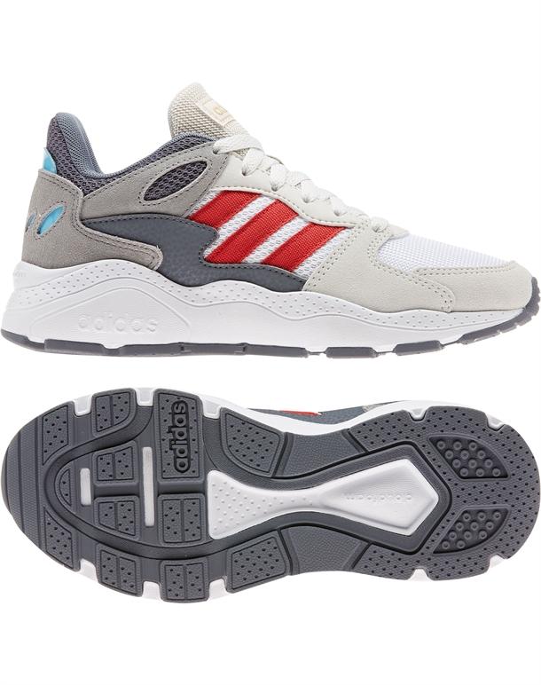 Adidas Crazychaos Børnesko Sand-Grå-Hvid Børn 1