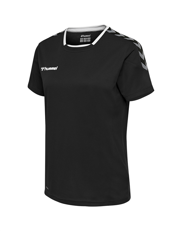 Hummel Authentic Poly T-shirts Sort Dame 1