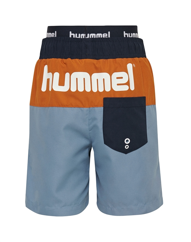 Hummel Garner Badebukser Navy-Orange-Blå Børn 2
