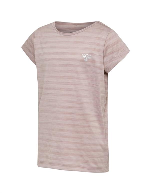 Hummel Sutkin T-shirt Lyselilla Børn 1