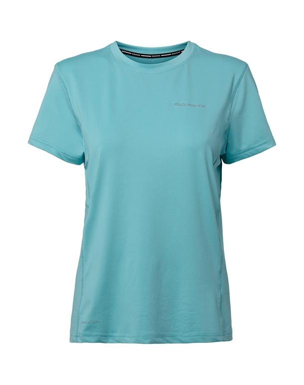 Endurance Peach W S-S Tee T-shirts Turkisblå Dame 1