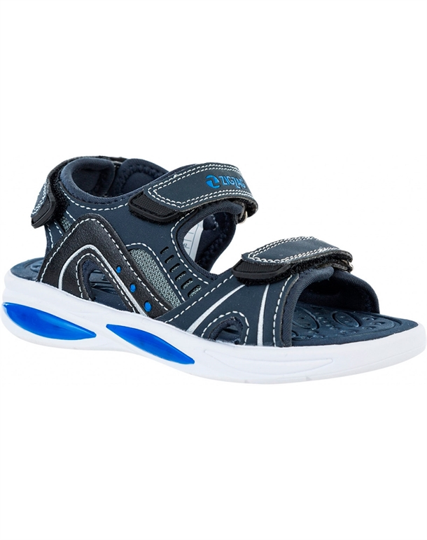 Zig Zag Trice Lite  Sandaler Navy Børn 1