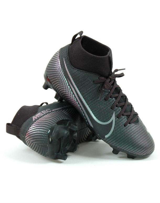 Nike Superfly 7 Academy FG/MG Fodboldstøvler Sort Børn 1