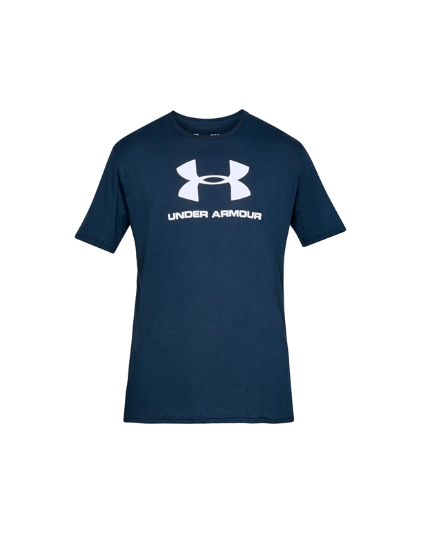 Under Armour Sportstyle Logo SS T-shirts Mørkeblå Herre 1