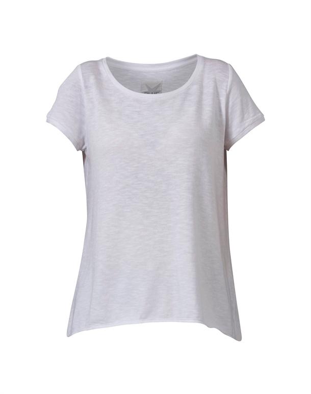 Blue Sportswear Palmdale Rough Tee T-shirts Hvid Dame 1
