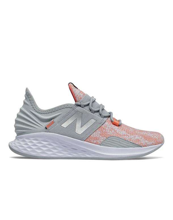 New Balance ROAV Sneakers Grå-Orange Dame 1