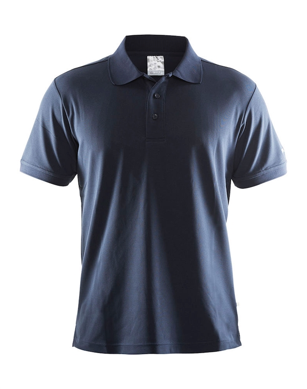 Craft Pique Classic Polo Navy Herre 1