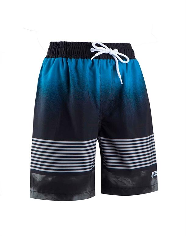 Cruz Coleman Stripe  Badeshorts Blå-Sort Drenge 1