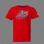 Champion Crewneck T-shirts Rød Børn