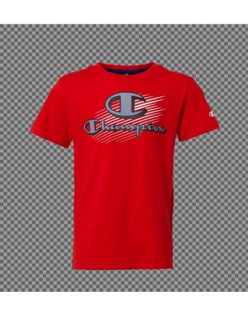 Champion Crewneck T-shirts Rød Børn 1