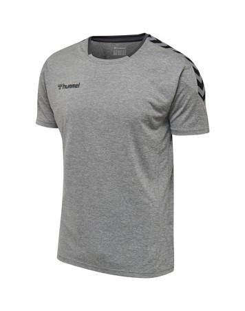 Hummel Authentic Poly T-shirts Grå Herre 1