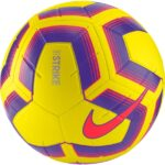 Nike Strike Team Fodbold Gul-Lilla-Rød Unisex