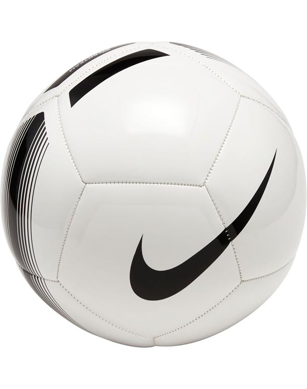 Nike Pitch Team Fodbold Hvid-Sort Unisex 1