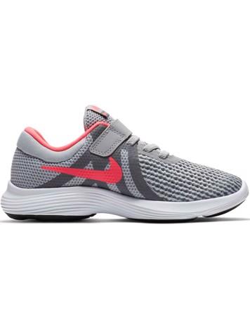 Nike Sko Revolution 4 (PSV) Grå-Lyserød Børn 1