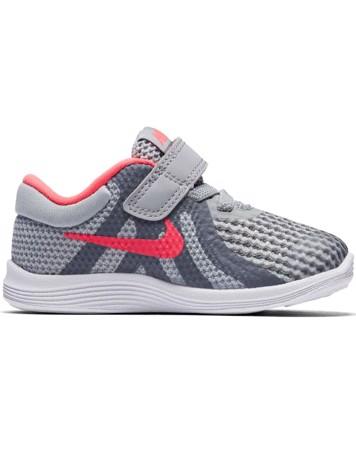 Nike Sko Revolution 4 (TDV) Grå-Lyserød Børn 1
