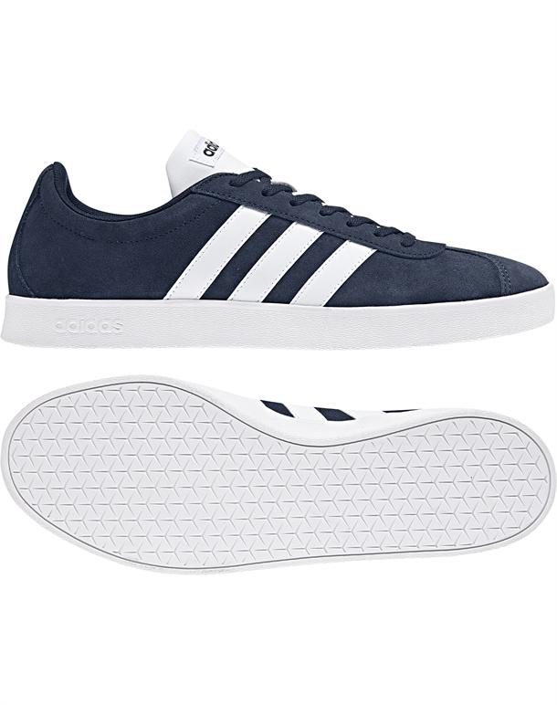 Adidas VL Court 2.0 Sneakers Blå-Hvid Herre 1