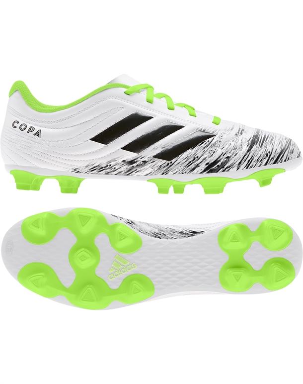 Adidas Copa 20.4 FG Fodboldstøvler Hvid-Sort-Grøn Herre 1