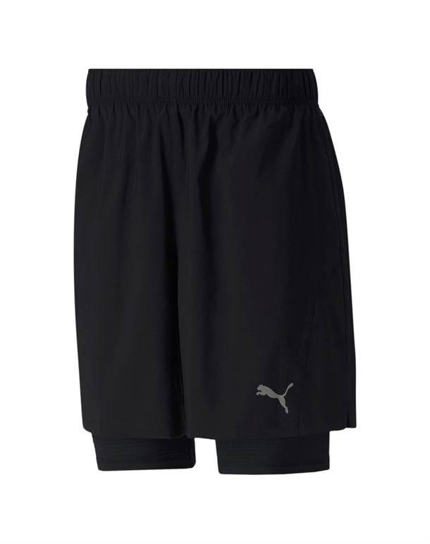 Puma Run Fav 2IN1 Shorts Sort Herre 1