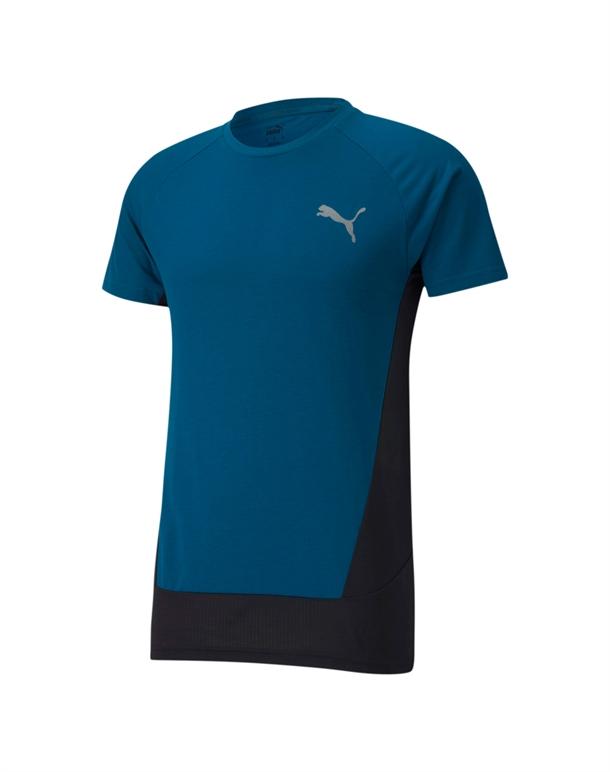 Puma Evostripe T-shirts Blå Herre 1