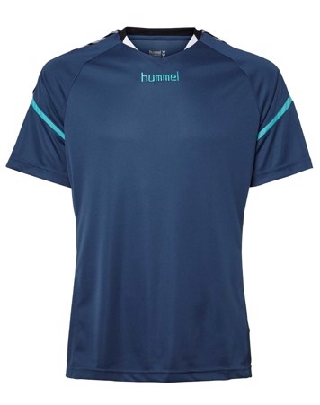Hummel T-shirt Authentic Charge SS Poly Jersey Blå Herre 1