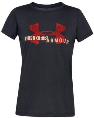 Under Armour T-shirt Tech Tech Graphic Sort Dame