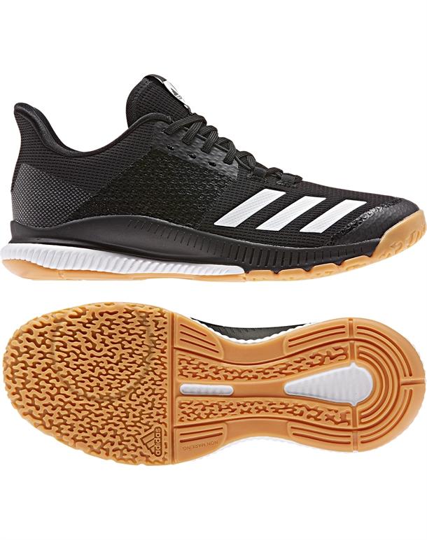 Adidas Crazyflight Bounce 3 Indendørssko Sort Unisex 1