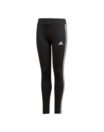 Adidas YG TR EQ 3S L T Tights Sort-Hvid Børn 1