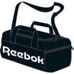 Reebok ACT Core S Grip Sportstaske Sort Unisex
