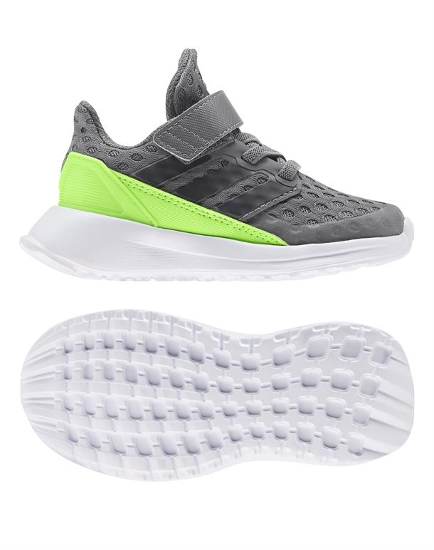 Adidas RapidaRun EL I Børnesko Grå-Grøn Børn 1