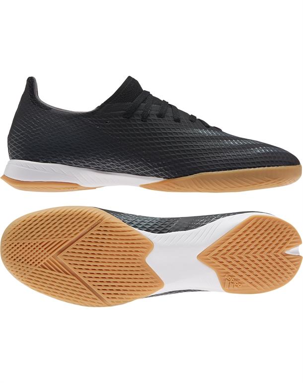 Adidas X Ghosted.3 IN Indendørs fodboldsko Sort Unisex 1